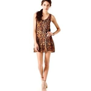 Minkpink Urban Outfitters animal print Dress